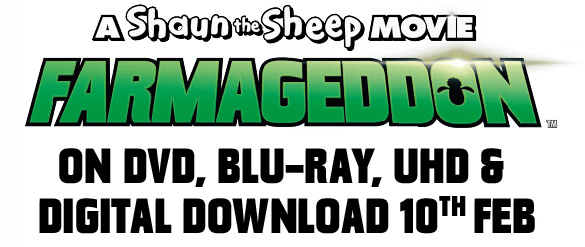 A Shaun the Sheep Movie: Farmageddon. Only in Cinemas